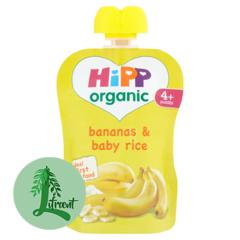 HiPP belgur bananar og barna grjón 70 g