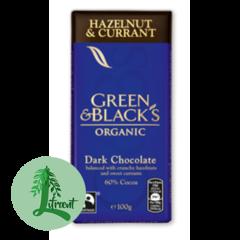 Green & Black Lífrænt hazel & currant 60%