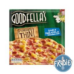 Goodfellas pizza Thin Hawaiian