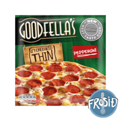 Goodfellas pizza Thin Pepperoni