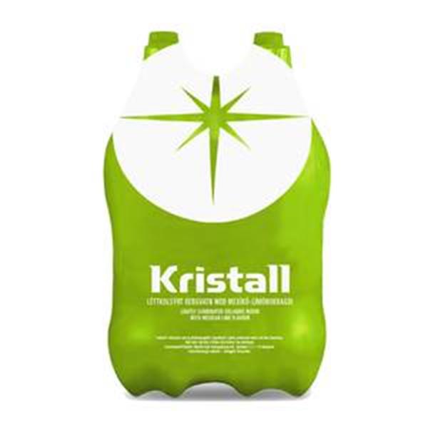 Egils Kristall með mexican lime 4x2l kippa