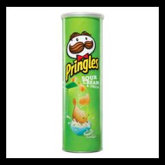 Pringles sour cream and onion 165g