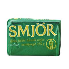 MS Smjör ósaltað 250 g