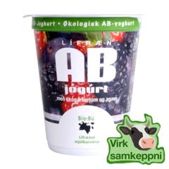 BioBú Lífræn ab jógúrt skógarber - 170g