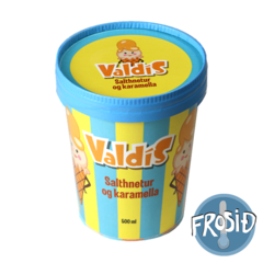 Valdís - Salthnetur og karamella 500 ml