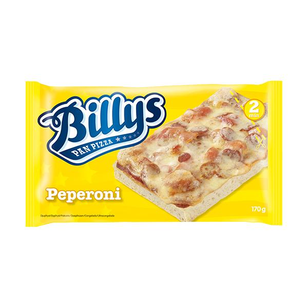 Billys Pan Pizza Pepperoni 170 Gr
