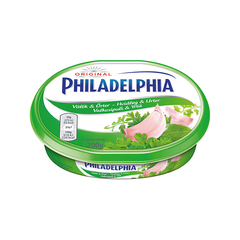 Philadelphia light hvítlaukur 200 g