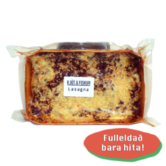 Kjöt og Fiskur Lasagna