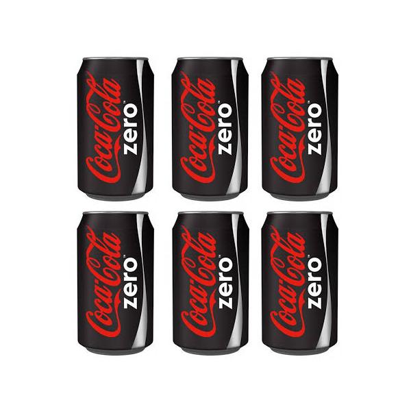 Coke Zero í dós 6 pack