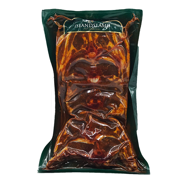 Íslandslamb Lambakótilettur kryddlegnar ca. 800 g