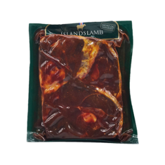 Íslandslamb lambalærissneiðar kryddlegnar ca. 500 g