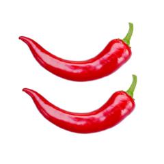 Ferskur rauður chili 2 stk