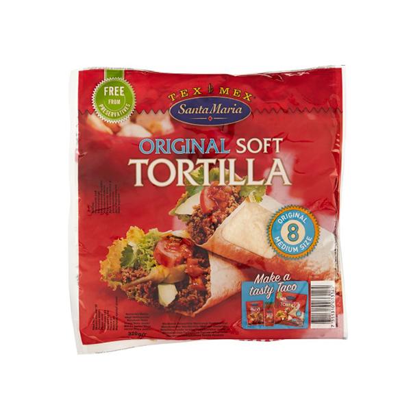 Santa Maria Super soft tortilla