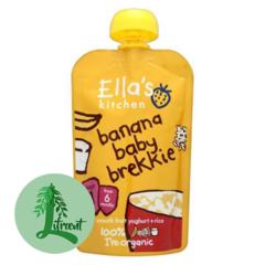 Ella's Kitchen morgunskvísa - bananar, jógúrt, hrísgrjón 100 g
