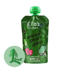 Ella's Kitchen brokkolí - perur og baunir 120 g
