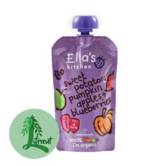 Ella's Kitchen sætar kartöflur - grasker - epli og bláber 120 g