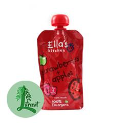 Ella's Kitchen jarðarber og epli 120 g