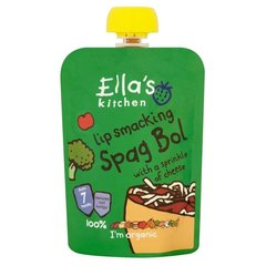 Ella's Kitchen spaghetti bolognese kvöldverður 130 g