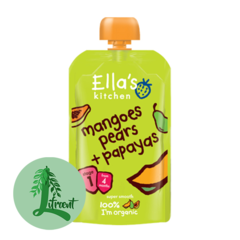 Ella's Kitchen mangó - perur og papaya 120 g