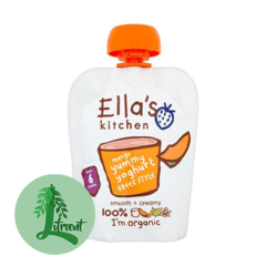 Ella's Kitchen grísk jógúrt mangó 90g