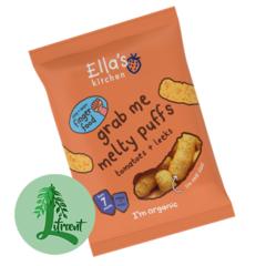Ella's Kitchen púff tómatar og blaðlaukur 20 g