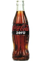 Coke Zero í gleri 0,25l kassi