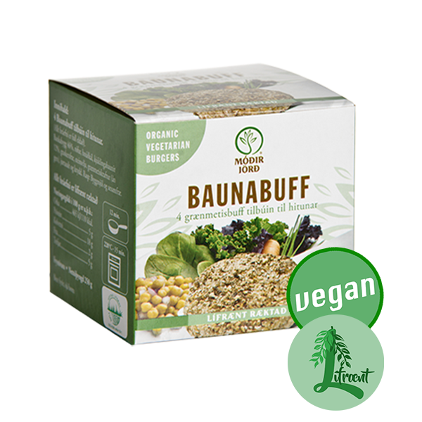 Baunabuff 4 stk