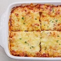 Ekta ítalskt lasagna