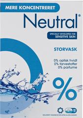 Neutral Storvask þvottaefni