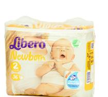 LIBERO bleyjur Newborn 2 (3-6kg)