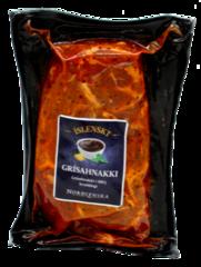 Norðlenska Grísahnakki í BBQ legi