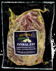 Norðlenska lambainnralæri með hvítlauks og rósmarín