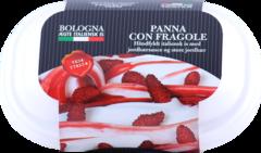 Bologna Ís Panna Con Fragole