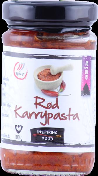 Inspiring Foods rautt karrý paste