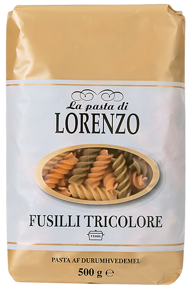 Lorenzo 3 lita pasta skrúfur