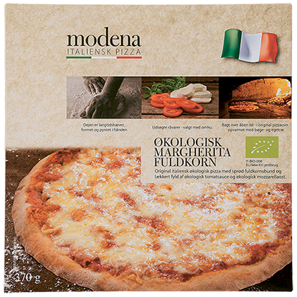 Modena Pizza Margherita heilhveiti