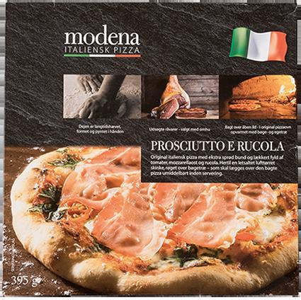 Modena Pizza Speciale Rucola