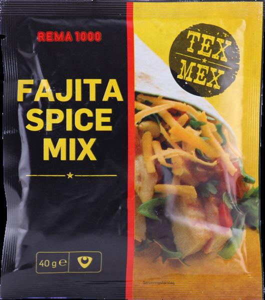 REMA 1000 Fajitas kryddblanda