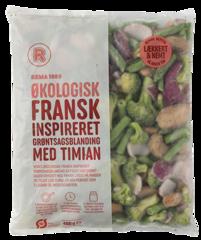 REMA 1000 Frönsk grænmetisblanda lífræn frosin