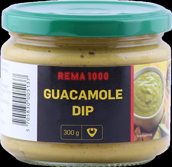 REMA 1000 Guacamole dýfa