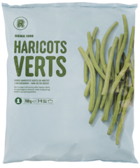 REMA 1000 Haricots Verts franskar strengjabaunir frosnar