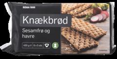 REMA 1000 Hrökkbrauð sesam og hafrar