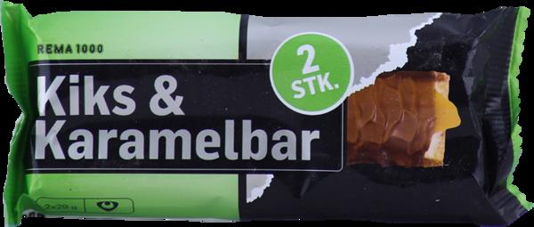REMA 1000 Kex-og karamellustykki