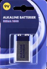 REMA 1000 Rafhlaða 9V