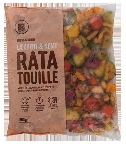 REMA 1000 Ratatouille grænmetisblanda frosin