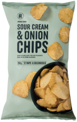 REMA 1000 Sour cream & Onion Chips