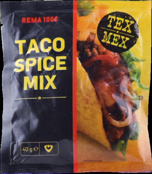 REMA 1000 Taco kryddblanda