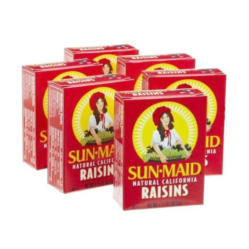 SUN-MAID Rúsínur 12x14 g