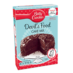 Betty Crocker Devils Food kökumix