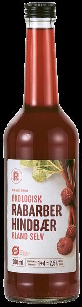 REMA 1000 Þykkni rabbabara og hindberja lífrænt